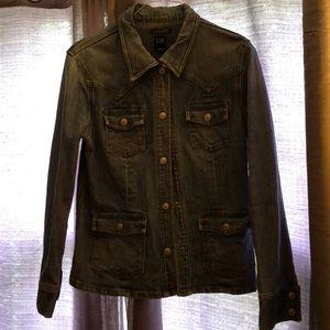 GAP vintage westernized denim jacket